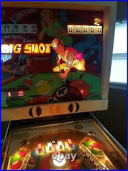 1973GOTTLIEB RARE BIG SHOT Pinball Machine. Read Description and MSG ME SHIPPING