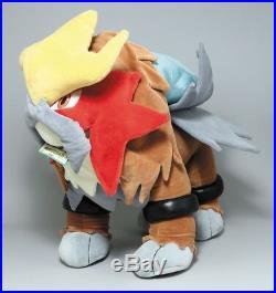 2000 Tomy Pokemon Entei Big Size Plush Doll 28 70cm Theater LE Very Rare