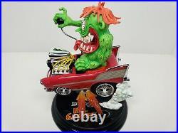 2003 Danbury Mint Big Daddy Ed Roth Rat Fink Mr. Gasser Hot Rod Statue Rare