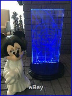 2007 Disney Star Wars Weekend Princess Leia Minnie Mouse Big Fig + Sketch, Rare