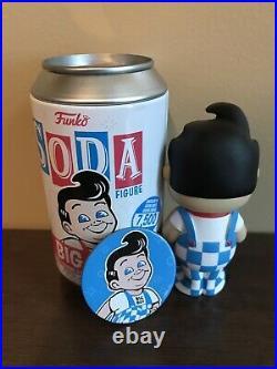 2020 New Funko Soda Pop Figure Big Boy BLUE CHASE 1/1200 RARE