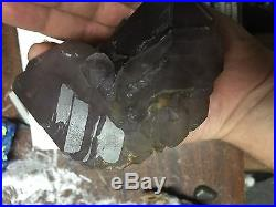 2lb Big Display Rare Smokey Amethyst Crystal Skeletal Cluster Reel Mine NC