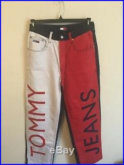90s Vintage Tommy Jeans. Rare Collectible! BIG SPELL OUT
