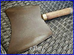 Antique 1890 F. Dick Very Rare BIG Double Edged Meat Cleaver Vintage & Rare Nr. 11