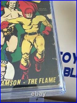 BIG 3 #2 CGC 1.5 Winter 1941 Golden Age The Blue Beetle-Samson-The Flame RARE