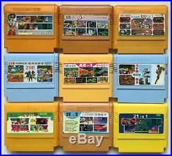 BIG Famiclone T. V. GAME Multi-Cart Collection 100 Cart FC/Famicom/NES/Dendy RARE