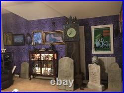 BIG Haunted Mansion lenticular Ghost Ship 6 images Disneyland Disney World RARE