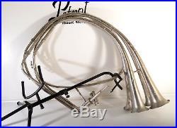 BIG Rare Vintage Top 4 Pipes Fanfare TrumpetValued Collectible InstrumentPromo