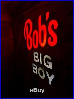 BOB'S BIG BOY OUTDOOR NEON SIGN RARE from the 1960's LOOK