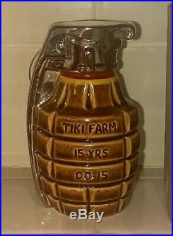 BOBOMB HAND GRENADE TIKI BOB MUG BIG TOE & TIKI FARM SOLD OUT Signed 94/100 RARE
