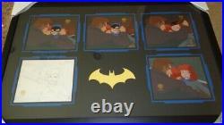 Batman Animated Series Production Cels Batgirl Sequence Rare! Big! Beautiful