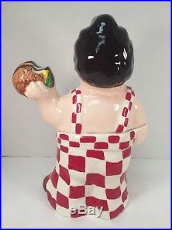 Big Boy Cookie Jar Limited Edition 182/250 Overalls Burger Bobs Vintage Rare