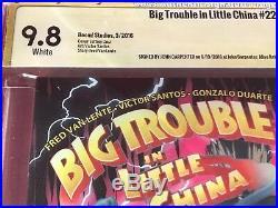 Big Trouble In Little China #22 CBCS 9.8 -rare-Signature Series JOHN CARPENTER