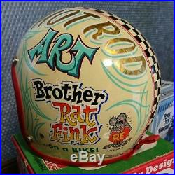 Buco Brother RAT FINK boo Jet Helmet Ed Big Daddy Roth New Classic Rare
