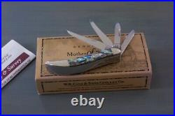CASE 2007 ABALONE PEARL BIG PICK TINY TOOTHPICK Knife 840096 4 Blades VERY RARE