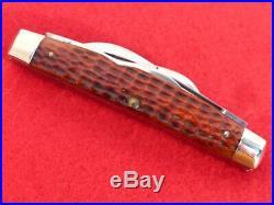 Case XX 1940-64 RARE LONG PULL RED bone 6488 LP big 4.25 congress knife