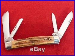 Case XX 1940-64 RARE RED Stag 5488 big 4.25 congress knife