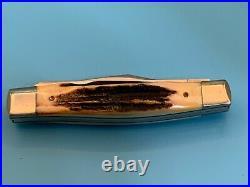 Case XX Knife Rare, Fattest Stag, Vintage 1979 Big 5275 Sp