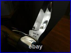 Case XX USA 1970. Rare10-dotbig 5265-sabfolding Hunterprime Stagunsharpened