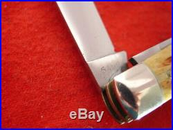 Case XX USA/XX transition RARE Second Cut Stag 5488 big 4.25 congress knife
