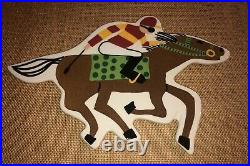 Coton Colors Happy Everything Big Horse Race Attachment Retired & Rare