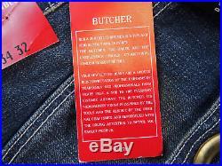 DEADSTOCK Levis Collectibles BUTCHER Selvedge Jeans W34 L32 RARE (NO LVC/ BIG E)