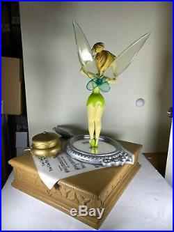 DISNEY BIG FIG TINKERBELL YOU CAN FLY Extremely Rare Coa Box 26 Tall 18x16
