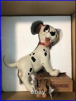 DISNEY ONE HUNDRED AND ONE DALMATIANS PUPPY PATCH BIG FIG WithCOA RARE