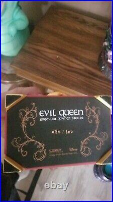 DIsney big fig Sideshow Evil Queen LE Rare
