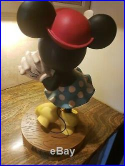 Disney 1928 Minnie Mouse Big Figure Retired Only 1999 Made Very Rare
