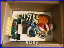 Disney Auctions Big Fig Christmas SANTA STITCH Rare Limited Edition of 250