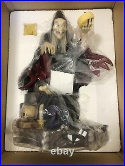 Disney Auctions Big Fig Old Hag Rare LE Statue Figurine NIB