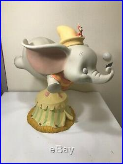 Disney Auctions LE 250 Big Fig Figure Dumbo & Timothy Flying on Tent RARE