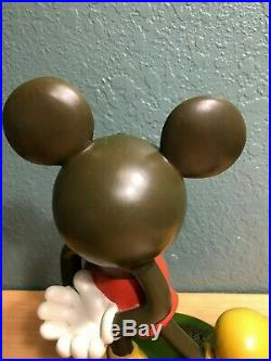 Disney Big Fig 12 Mickey Mouse Statue Resin RARE Vintage