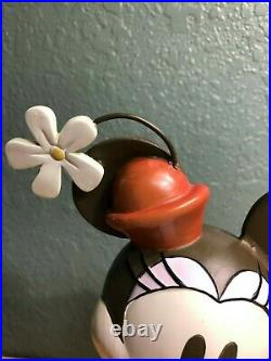 Disney Big Fig 12 Minnie Mouse Statue Resin RARE Vintage