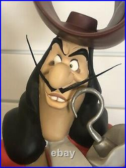 Disney Big Fig Captain Hook from Peter Pan 29 Rare LE Statue Figurine