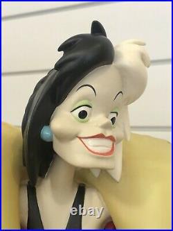 Disney Big Fig Cruella de Vil Rare LE Statue Figurine
