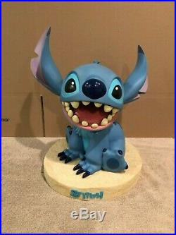 Disney Big Fig Figure Stitch Rare Disney Store Exclusive