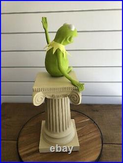 Disney Big Fig Kermit the Frog Rare LE Statue