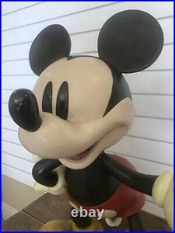 Disney Big Fig Life-Sized Mickey Mouse Rare LE Statue Figurine