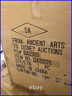 Disney Big Fig Pluto with Bowl & Bone DA Disney Auctions Rare LE Figurine