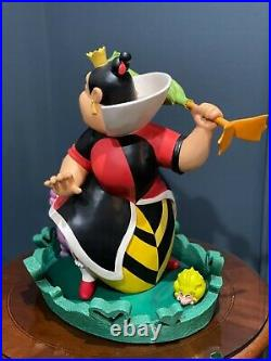 Disney Big Figure Queen of Hearts & Cheshire Cat -Rare LE Statue Only 250 Made