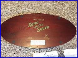 Disney Big Figure Trio Song Of The South Super Rare Limited 50 + Certificate