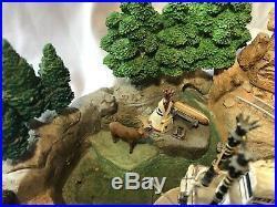 Disney Disneyland Frontierland Big Fig Figurine Rare VHTF