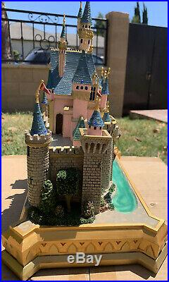Disney Disneyland Sleeping Beauty Castle Big Fig Rare Gorgeous