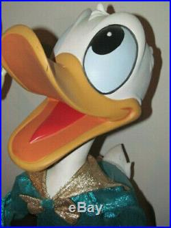 Disney Display Donald Duck Figure 1988 Big Fig Movable Prop Rare Window Store