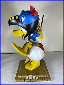 Disney Donald Duck Aztec Mayan LE 500 Big Fig Randy Noble Original Box RARE