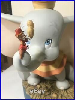 Disney Dumbo Big Figure big fig statue sculpture Timothy figurine Rare
