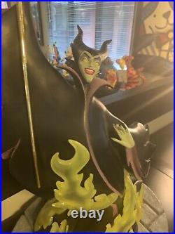 Disney Maleficent Big Fig Figure Statue Snow White. Rare