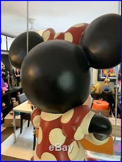 Disney Minnie Mouse Huge Display Prop Big Fig Statue Rare! 37Tall